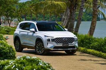 Hyundai Santa Fe 2021 bán ra với 6 phiên bản, tăng giá so với đời cũ