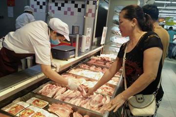 Giá lợn hơi xuống thấp nhất trong một năm qua