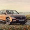 """<p class=""""Normal""""> <strong>Mercedes EQB</strong></p> <p class=""""Normal""""> Mẫu SUV chạy điện sẽ được ra mắt vào nửa cuối năm 2021, nhưng những trang bị như 7 chỗ tiêu chuẩn, hàng ghế thứ 3 thoải mái với người cao 1,8 m khiến mẫu xe trở nên hấp dẫn với gia đình. EQB trang bị động cơ điện công suất 291 mã lực và phạm vi hoạt động 418 km. Khả năng sạc nhanh lên đến 100 kW sẽ sớm được tích hợp. Hiện Mercedes chưa công bố mức giá.</p>"""