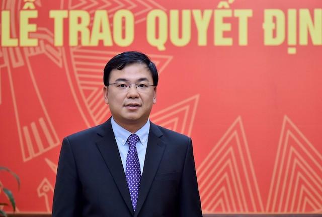 Tân Thứ trưởng Ngoại giao Phạm Quang Hiệu. Ảnh: Báo Chính phủ.