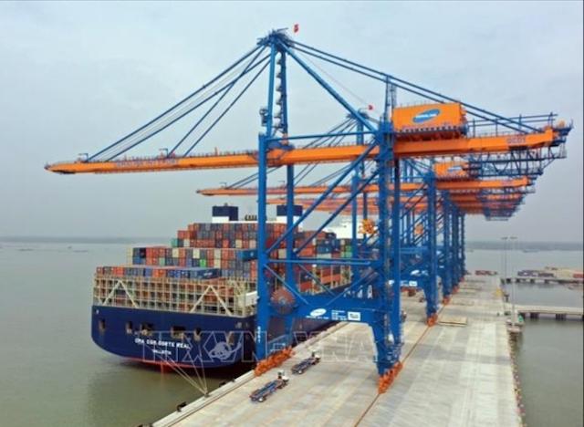Cảng biển Bà Ria-Vũng Tàu.