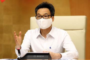 Phó Thủ tướng: Bộ Y tế sớm cập nhật, hoàn thiện quy trình cách ly