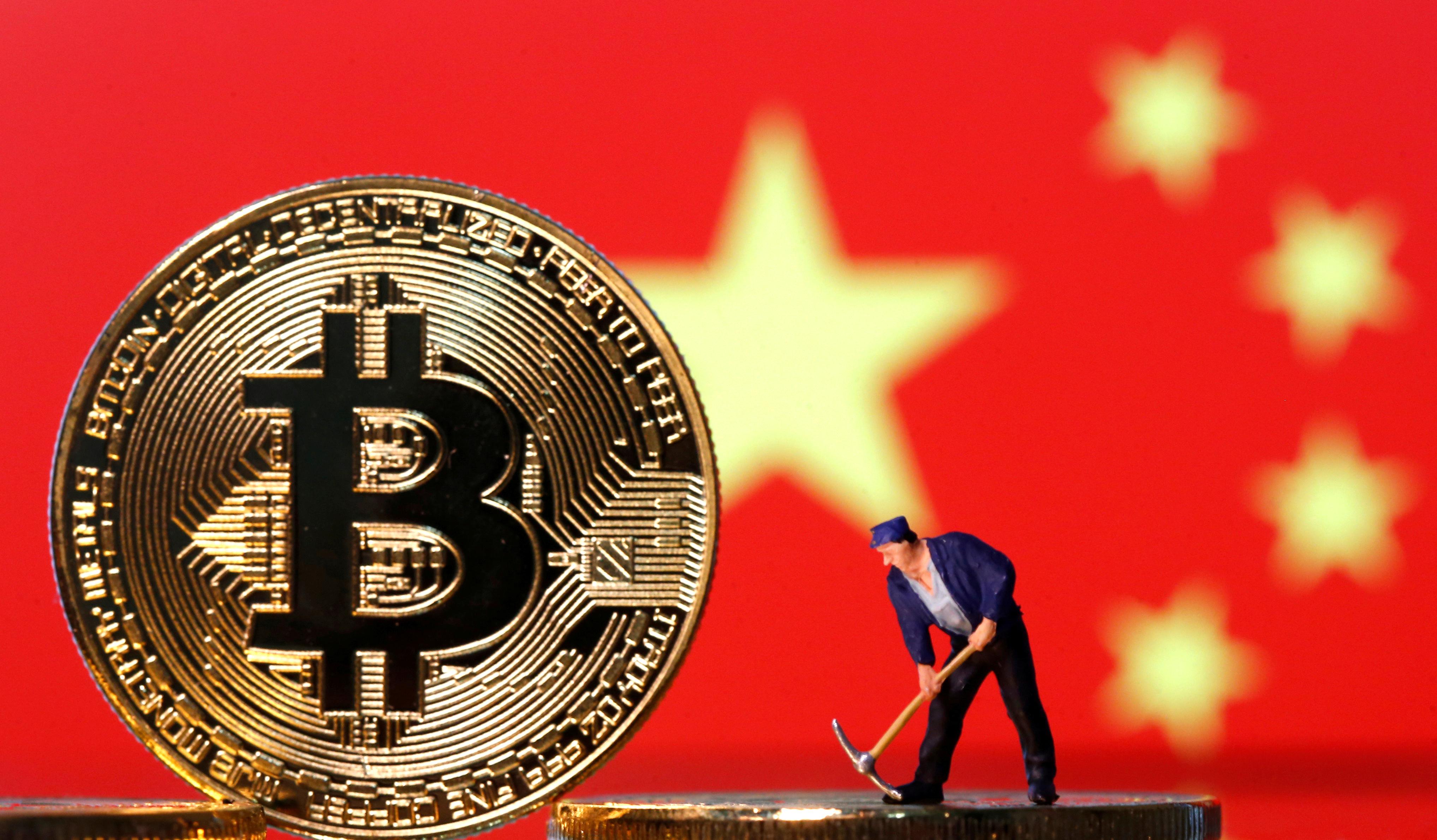 Trung Quốc cấm tổ chức tài chính giao dịch tiền điện tử