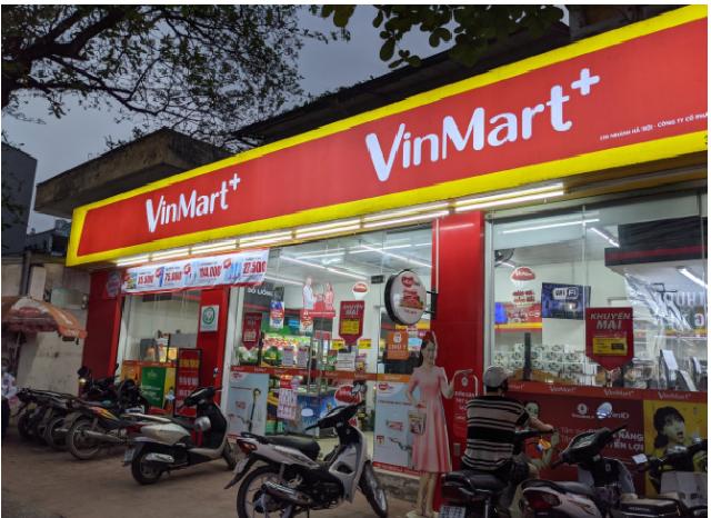 Một cửa hàng VinMart trong hệ thống bán lẻ VinCommerce. (Ảnh: Thiên Trường).