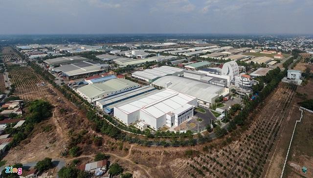 Củ Chi có nhiều khu công nghiệp quy mô lớn, nhiều ngành nghề như KCN Tân Phú Trung, KCN Tây Bắc Củ Chi... Ảnh: Quỳnh Danh