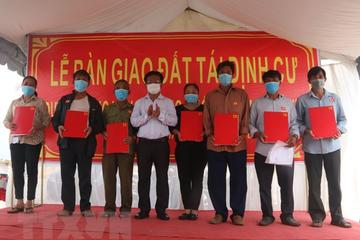 Dự án sân bay Long Thành: Giao đất tái định cư cho 24 hộ đầu tiên