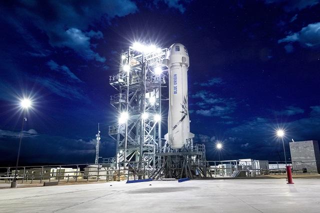 Một chỗ ngồi trên tên lửa của tỷ phú Jeff Bezos có giá thấp nhất 2,2 triệu USD