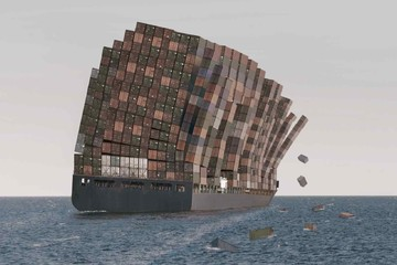 Cơn 'ác mộng' kéo dài của vận tải biển toàn cầu (P1)