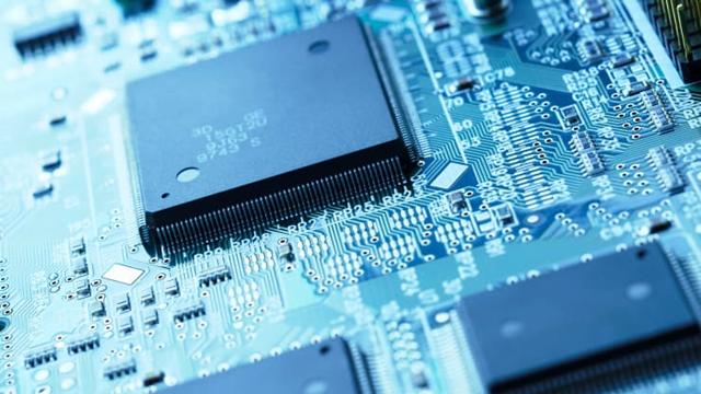 Chip tích hợp trên một bo mạch. Ảnh: Getty Images.