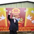 <p> Tại Cần Thơ, Thủ tướng Phạm Minh Chính có mặt tại điểm bầu cử số 18, phường Cái Khế, quận Ninh Kiều. Ảnh: <em>Thuận Thắng.</em></p>
