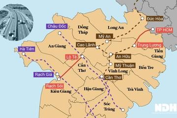 Hệ thống cao tốc Đồng bằng sông Cửu Long đang được hình thành như thế nào?