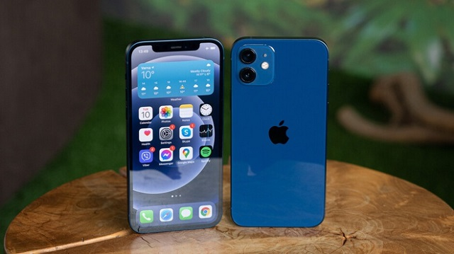 iPhone 12 là điện thoại bán chạy nhất 3 tháng đầu năm 2021. Ảnh: Phone Arena.