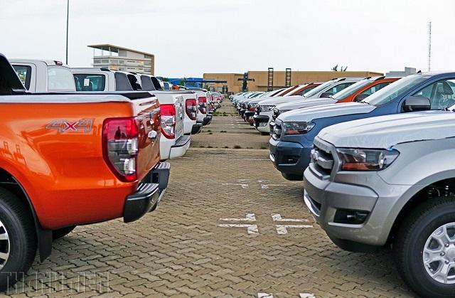 Xe bán tải màu sắc trung tính thường giữ giá tốt hơn trên thị trường ô tô đã qua sử dụng