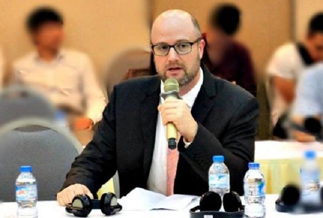 Ông Adam Sitkoff, Giám đốc Điều hành AmCham.