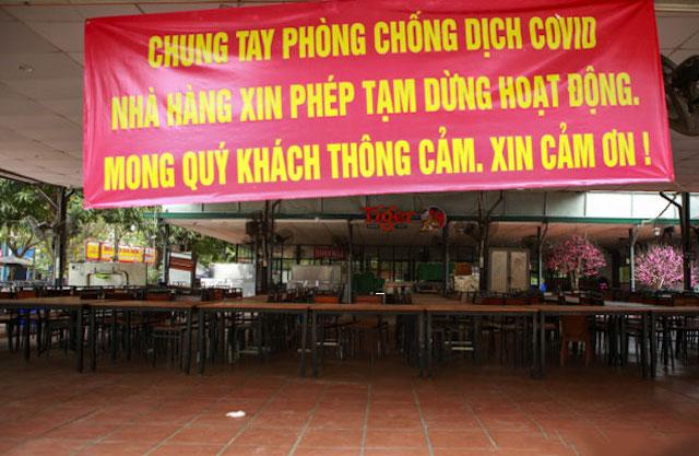 Hà Nội đóng cửa cơ sở ăn uống, cắt tóc, gội đầu từ 12h ngày 25/5