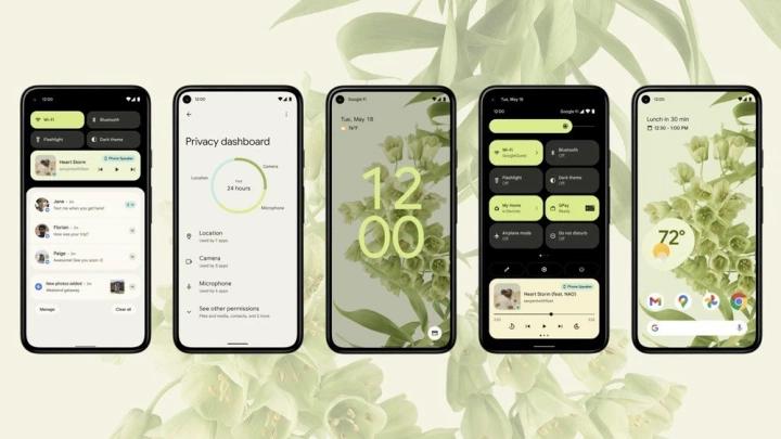 Android 12 cung cấp loạt tính năng bảo mật mới