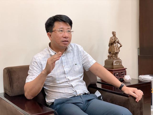 TS Phạm Hoài Chung, Viện phó, Viện Chiến lược & Phát triển giao thông vận tải, Bộ Giao thông vận tải. Ảnh: Ngọc Hà.