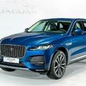 """<p class=""""Normal""""> Ở phiên bản mới, SUV cỡ trung Jaguar F-Pace thay đổi nhỏ giọt ở ngoại thất. Phần nội thất tương tự sedan XF.</p> <p class=""""Normal""""> F-Pace cung cấp hai lựa chọn máy dầu. Loại 2 lít cho công suất 245 mã lực và mô- men xoắn 365 Nm, loại 3 lít công suất 394 mã lực và mô-men xoắn 550 Nm. Tất cả các phiên bản đều sử dụng hộp số tự động 8 cấp và hệ dẫn động bốn bánh.</p> <p class=""""Normal""""> Tại thị trường Việt Nam, Jaguar F-Pace phân phối với 4 phiên bản: 2.0, 2.0 SE, 2.0 R-Dynamic SE, 3.0 SE giá bán khởi điểm từ 3,685 tỷ đồng. (Ảnh:<em>Jaguar</em>)</p>"""