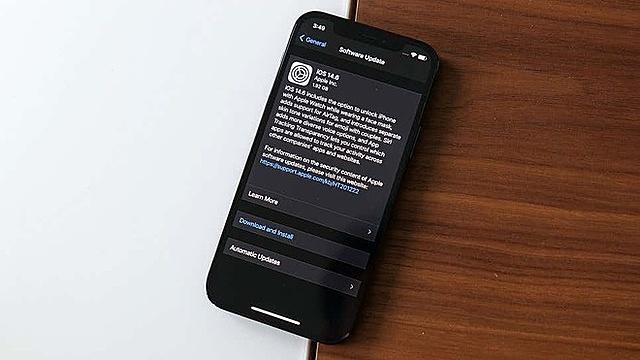 iOS 14.6 là bản cập nhật quan trọng dành cho iPhone. Ảnh: Gizmodo.