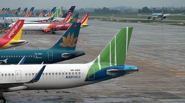 Vietnam Airlines, Pacific Airlines, Vasco và Bamboo Airways tăng phí từ đầu tháng 5. Ảnh: Hoàng Hà.