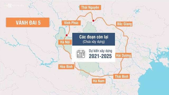 Bắc Giang đề nghị hỗ trợ 1.330 tỷ đồng đầu tư Vành đai 5 dài hơn 51 km