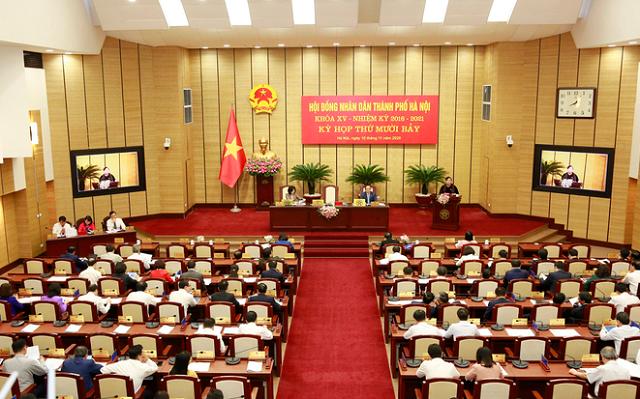 Hà Nội công bố 95 người trúng cử HĐND thành phố