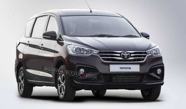 Sắp có xe Suzuki Ertiga mang logo Toyota
