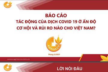 Agriseco: Tác động của dịch Covid-19 ở Ấn Độ - Cơ hội và rủi ro nào cho Việt Nam?