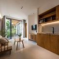 <p> Các kiến trúc sư đã coi mỗi phòng như một ngôi nhà. Do đó, họ ưu tiên sử dụng nội thất tối giản để khách hàng có trải nghiệm sống tối ưu tại dự án.</p>
