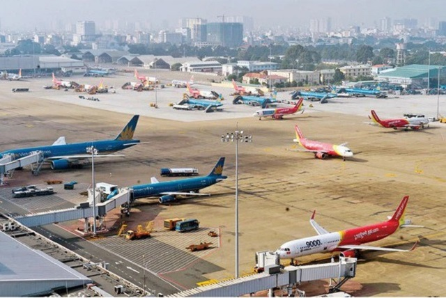 Cảng hàng không Nội Bài chạm đáy về công suất