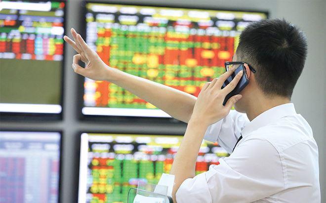 Một số cổ phiếu lớn bứt phá, VN-Index kết phiên trong sắc xanh