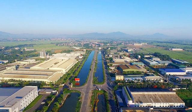Khu công nghiệp Phú Nghĩa, Hà Nội. Ảnh: Kinh tế Đô thị.