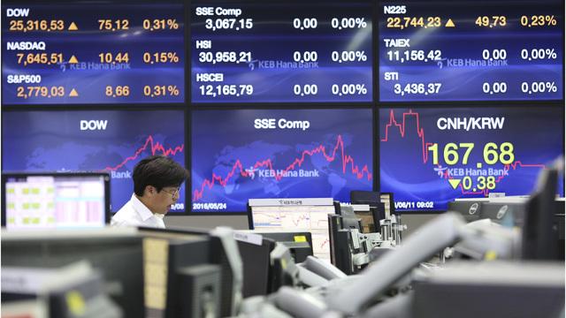 Trung Quốc công bố PMI dịch vụ, chứng khoán châu Á trái chiều
