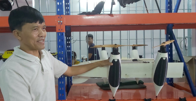 Chuyên gia hàng đầu drone Việt: Ứng dụng drone trong nông nghiệp sẽ như máy cày thay thế con trâu