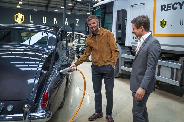 David Beckham mua 10% cổ phần hãng xe điện hóa Rolls-Royce, Jaguar và Range Rover