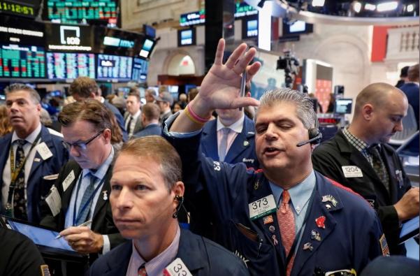 Lo ngại lạm phát, Phố Wall giảm