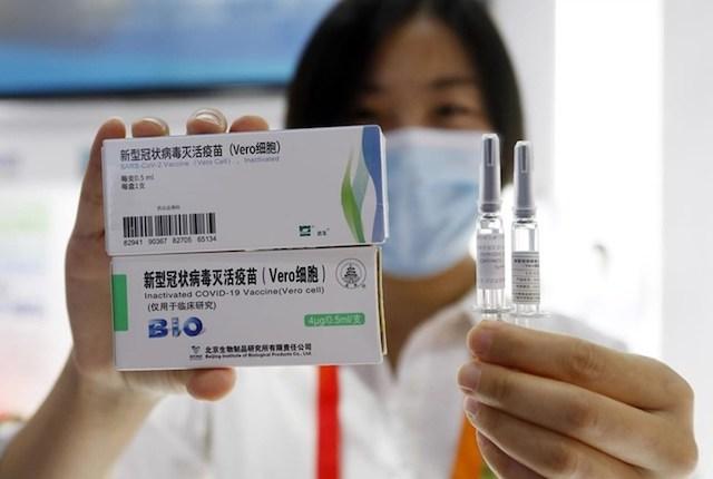 Việt Nam phê duyệt vaccine Covid-19 của Trung Quốc