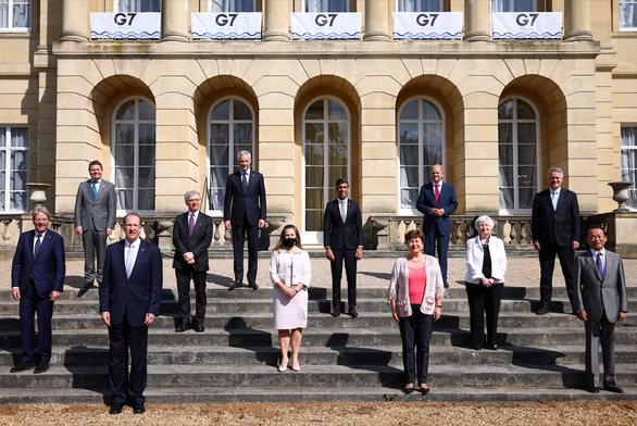 G7 đạt thỏa thuận lịch sử về thuế doanh nghiệp toàn cầu