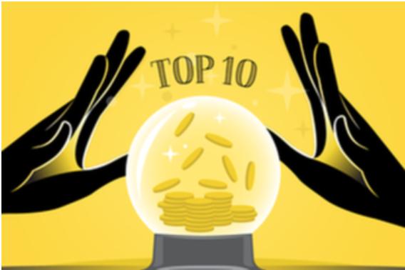 10 cổ phiếu tăng/giảm mạnh nhất tuần: Nhóm chứng khoán và ngân hàng bứt phá
