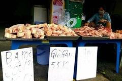 Việt Nam nhập hơn 51.000 tấn thịt heo giá rẻ