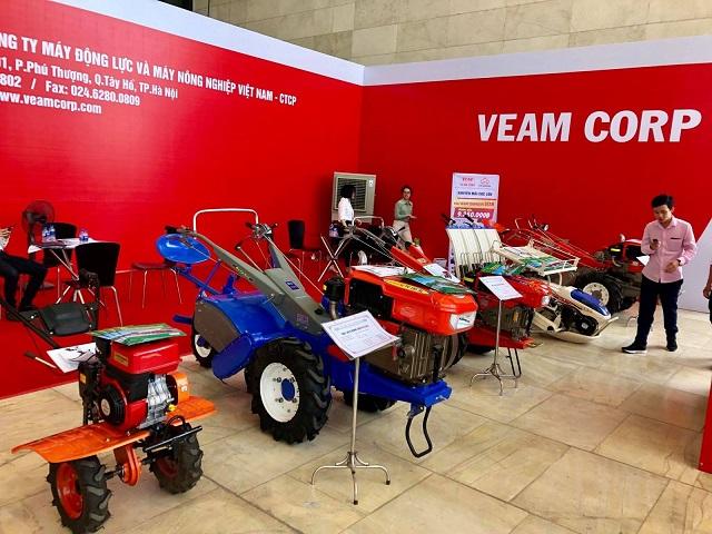 Sản phẩm chính của VEAM tại một triển lãm. Ảnh: VEAM Corp