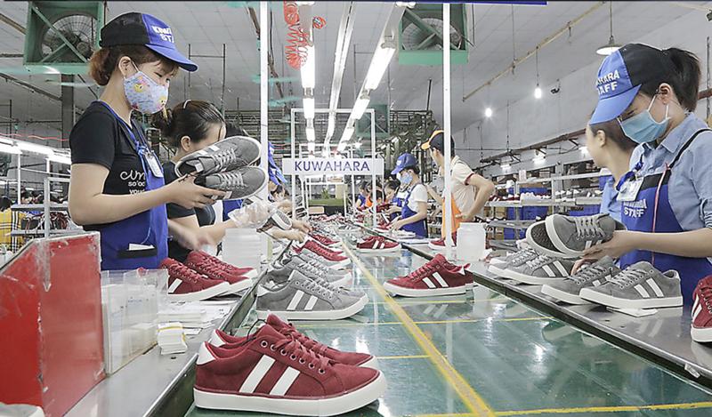 Xuất khẩu giày dép sang EU tăng mạnh nhờ 'cú huých' EVFTA