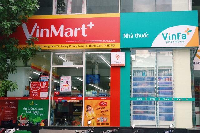 Nhà thuốc VinFa trên đường Vương Thừa Vũ - Thanh Xuân - Hà Nội (Ảnh: BM)