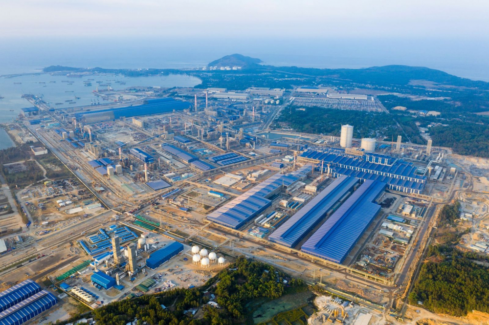 Quảng Ngãi chấp thuận chủ trương đầu tư nhà máy thép Dung Quất 2 của Hoà Phát