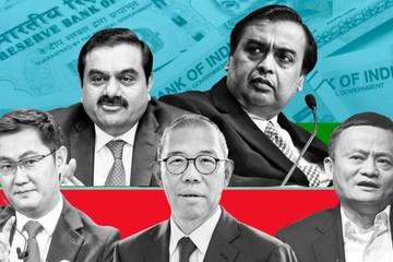 Các tỷ phú Ấn Độ vượt mặt giới tài phiệt Trung Quốc về tài sản