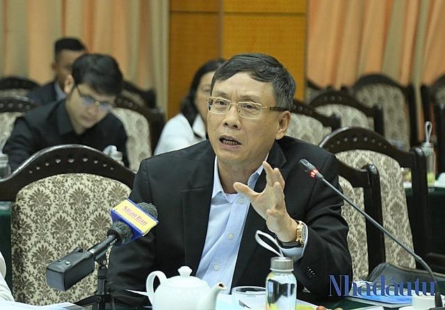 Ông Vũ Bằng, nguyên Chủ tịch Ủy ban Chứng khoán Nhà nước. Ảnh: Trọng Hiếu.