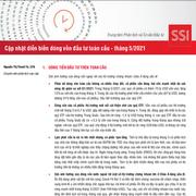 SSI Research: Diễn biến dòng vốn đầu tư toàn cầu tháng 5