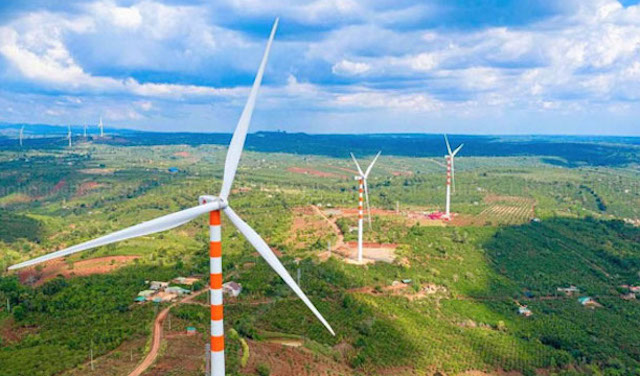 Đắk Lắk đề nghị bổ sung gấp 3 lần sản lượng điện gió vào quy hoạch điện VIII. Ảnh: Cổng TT Bắc Giang.