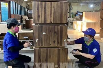 Xuất khẩu đồ gỗ vượt ngoài mong đợi bất chấp Covid-19