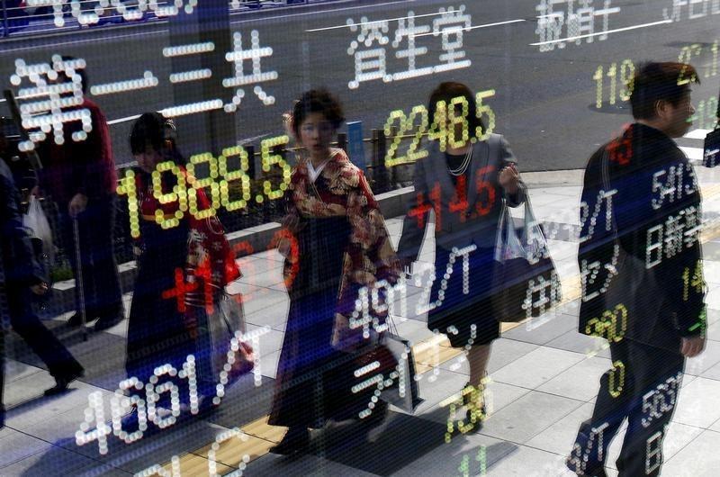Chứng khoán châu Á tăng, chờ số liệu lạm phát Mỹ